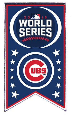 Chicago Cubs 2016 World Series Banner Souvenir Pin - Pro Jersey Sports