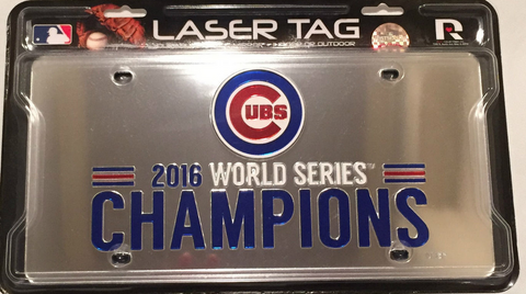 Chicago Cubs 2016 World Series Champions Laser Tag, Rico - Pro Jersey Sports - 1