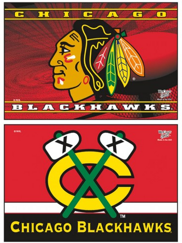 Chicago Blackhawks 2X3 2-Pack Magnet Pack By Wincraft - Pro Jersey Sports