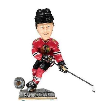 Forever Collectibles Patrick Kane Chicago Blackhawks Springy Bobble Figurine