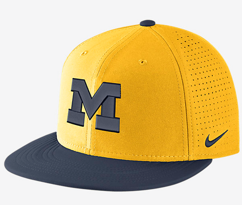Michigan Wolverines DF Vapor Snap Adjustable Hat By Nike