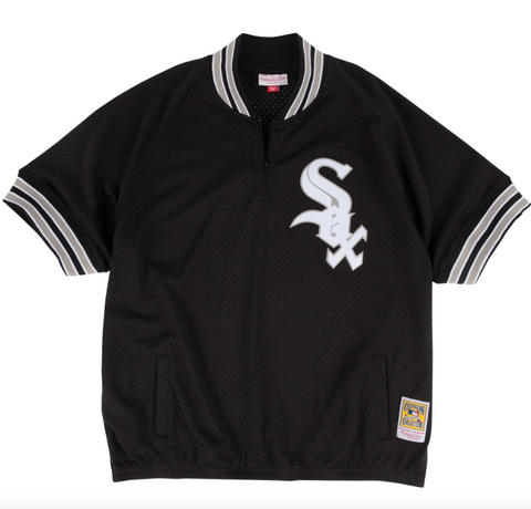 Chicago White Sox Bo Jackson 1/4 Zip BP Jersey By Mitchell & Ness