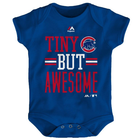 Chicago Cubs MLB Tiny But Awesome Creeper Tee