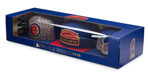 Chicago Cubs 2016 World Series Champions Limited Edition 9FIFTY Box Set By New Era