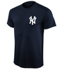 Men's Majestic Mickey Mantle Cooperstown Throwback Player Name Number New York Yankees T-Shirt