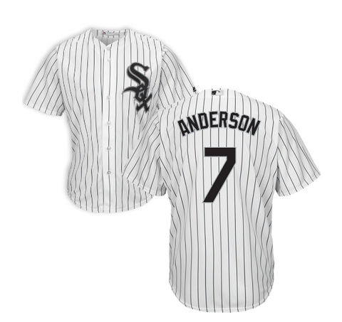 Tim Anderson Chicago White Sox Home Cool Base Pro Twill Replica Jersey By Majestic