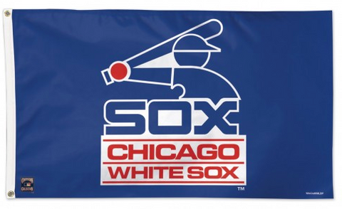 Chicago White Sox Batterman Deluxe 3X5 Flag With Grommets