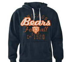 Chicago Bears Adult Double Coverage Pullover Hoodie