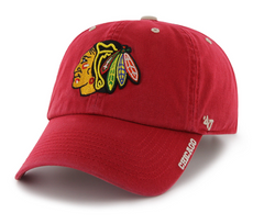 47 Brand Chicago Blackhawks ICE Cleanup Adjustable Hat