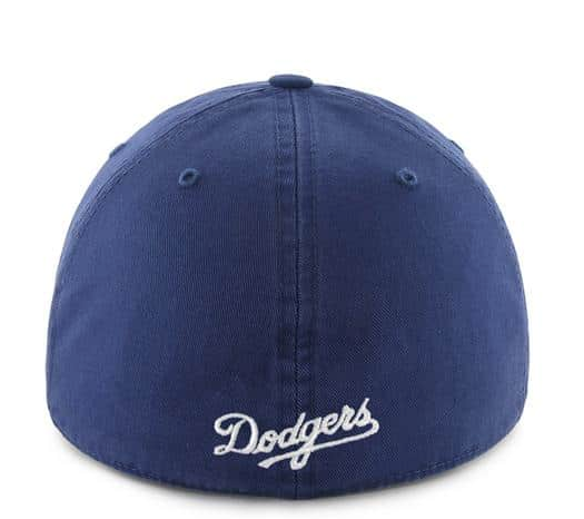 e1f753047062d 47 Brand MLB Los Angeles Dodgers Fitted Royal Franchise Slouch Dad Hat