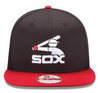 Chicago White Sox 1983 Logo Cooperstown Collection New Era 2 Tone MLB Basic 9FORTY Snapback Hat