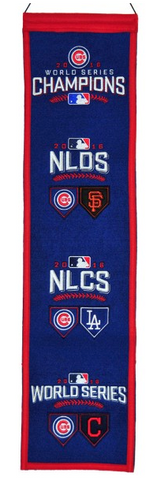 Chicago Cubs 2016 Road to the World Series Banner