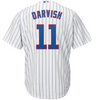Men's Chicago Cubs Yu Darvish Majestic White/Royal Official Cool Base Player Jersey