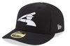 Mens Chicago White Sox New Era White/Black MLB18 Authentic Collection Prolight Low Profile 59FIFTY Fitted Hat