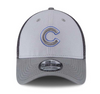 New Era Chicago Cubs Grayed Out Neo 39Thirty Stretch Hat (Gray)