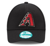 Arizona Diamondbacks Black 9FORTY Adjustable Game Cap by New Era