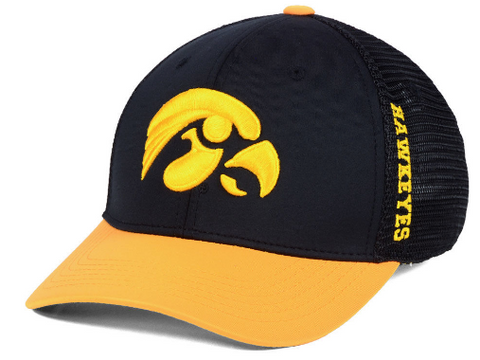 Mens Iowa Hawkeyes Chatter One Fit Flex Fit Hat By Top Of The World
