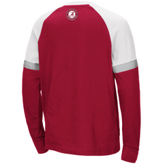 Alabama Crimson Tide Colosseum Youth Ollie Long Sleeve Raglan T-Shirt