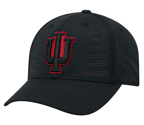 Mens Indiana Hoosiers Dazed One Fit Flex Fit Hat By Top Of The World