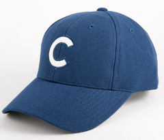 American Needle 1912 Chicago Cubs Navy Cooperstown Fitted Cap