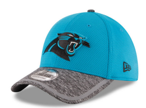 Mens Carolina Panthers NFL16 On Field Training Camp 39THIRTY Flex Fit New Era Cap