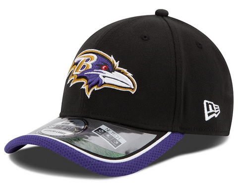 Baltimore Ravens NFL14 On Field 39Thirty Flex Fit Cap