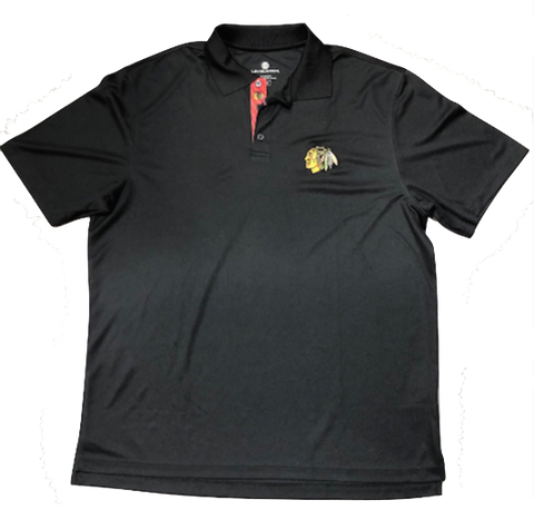 Chicago Blackhawks Skatelace Omaha Polo By Levelwear