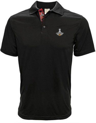 Chicago Blackhawks 2015 Stanley Cup Champions Helix Polo
