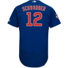 Mens Chicago Cubs Kyle Schwarber Majestic Alternate Royal Authentic Collection Flex Base Player Jersey