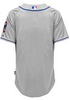 Chicago Cubs Road Alternate Gray Cool Base Authentic Road Jersey