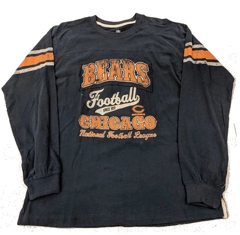 Youth Chicago Bears Vintage Long Sleeve Tee