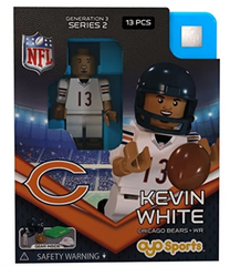 Chicago Bears Kevin White NFL OYO Generation 3 Series 2 G3 Mini Figure