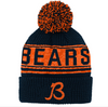 Youth Chicago Bears Retro Pixel Cuffed Knit Hat