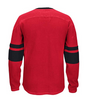 Chicago Blackhawks Adult Red L/S CCM Jersey Crew