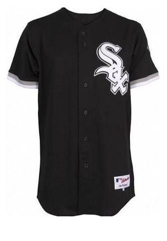 Chicago White Sox Authentic Alternate Blank Polyester Jersey