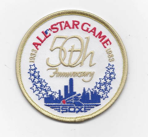 Chicago White Sox 50th Anniversary All Star Game Alternate Jersey Sleeve Patch