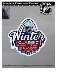 2017 NHL Winter Classic Jersey Patch St. Louis Blues vs Chicago Blackhawks