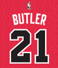 Jimmy Butler Chicago Bulls Mens Retro Print Player Tee - Pro Jersey Sports - 2