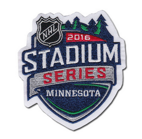 2016 NHL Stadium Series Logo Patch (Minnesota)