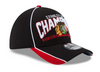 Chicago Blackhawks 2015 Stanley Cup Champions 39Thirty Flex Fit Cap - Pro Jersey Sports - 1
