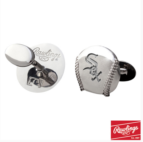 Chicago White Sox Cufflinks-Rawlings