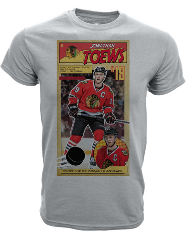 Youth Jonathan Toews Chicago Blackhawks First Issue Tee By Levelwear