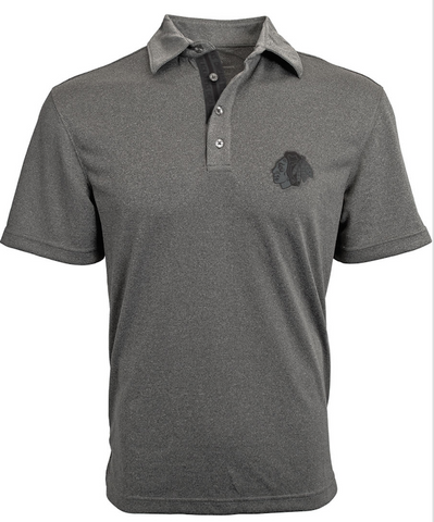 Chicago Blackhawks Affirmed Shadow Polo By Levelwear