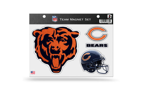 CHICAGO BEARS TEAM MAGNET SHEET - Pro Jersey Sports