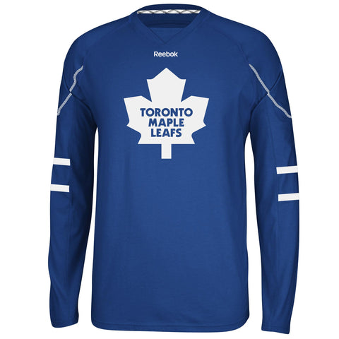 Mens Toronto Maple Leafs Long Sleeve Team Jersey Tee