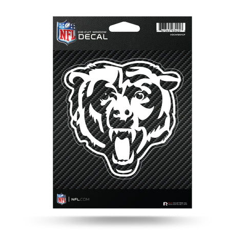 Chicago Bears Carbon Fiber  Die-Cut Vinyl Decal