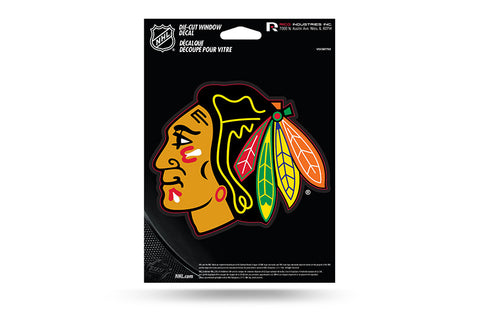 CHICAGO BLACKHAWKS MEDIUM DIE CUT DECAL - Pro Jersey Sports