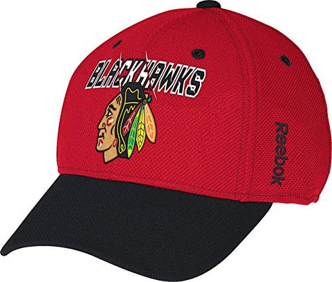 Youth Chicago Blackhawks Second Season Structured Reebok Center Ice Official NHL Hat