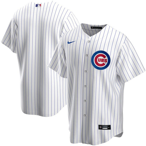 NIKE Men's Chicago Cubs White Home Replica Jersey