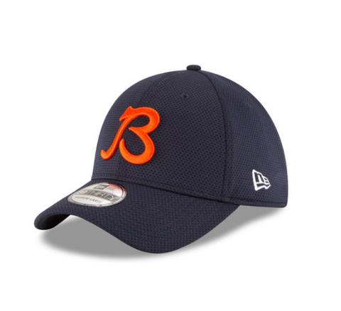"Mens Chicago Bears NFL ""B""  On Field Tech 39THIRTY Cap By New Era"